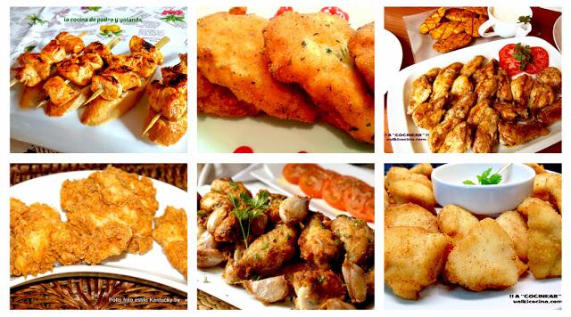 6 Recetas de pollo