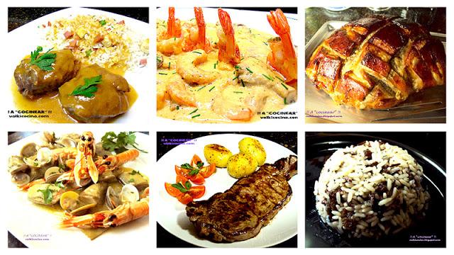 recetas-para-navidad-guarniciones-pescados-mariscos-carnes