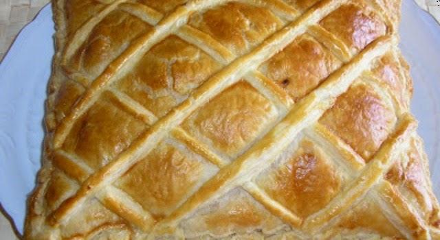Empanada fácil de jamón y queso