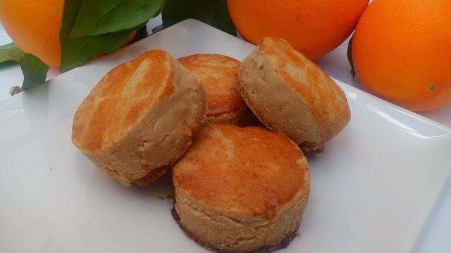 Mantecado de Naranja