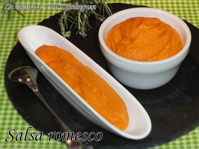 salsa romesco - la cocina de loli dominguez