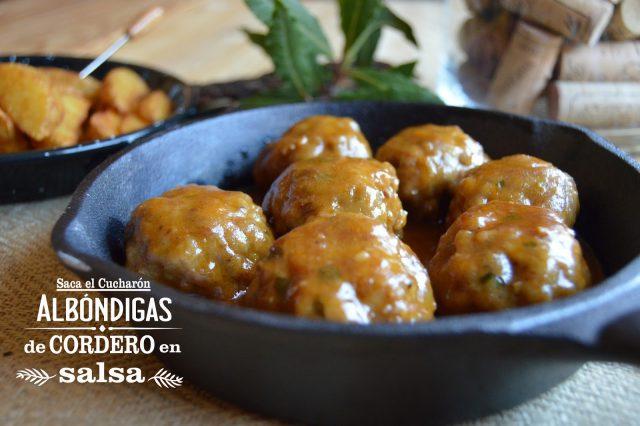 Albódigas de Cordero en salsa, Saca el Cucharón
