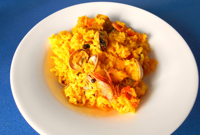 arroz cn marisco - cocina a buenas horas
