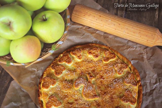 tarta de manzana gallega – tarta celta