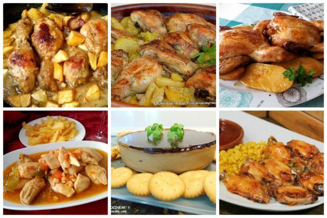 7 deliciosas recetas de pollo