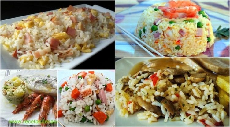 Guarniciones de arroz