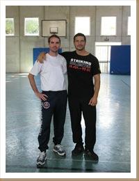 Mirko e Sifu Joaquin Almeria