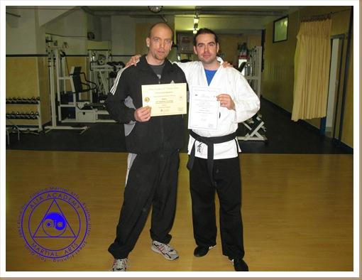 Domenico e Mirko - Diploma All. e Resp. Prov Ge