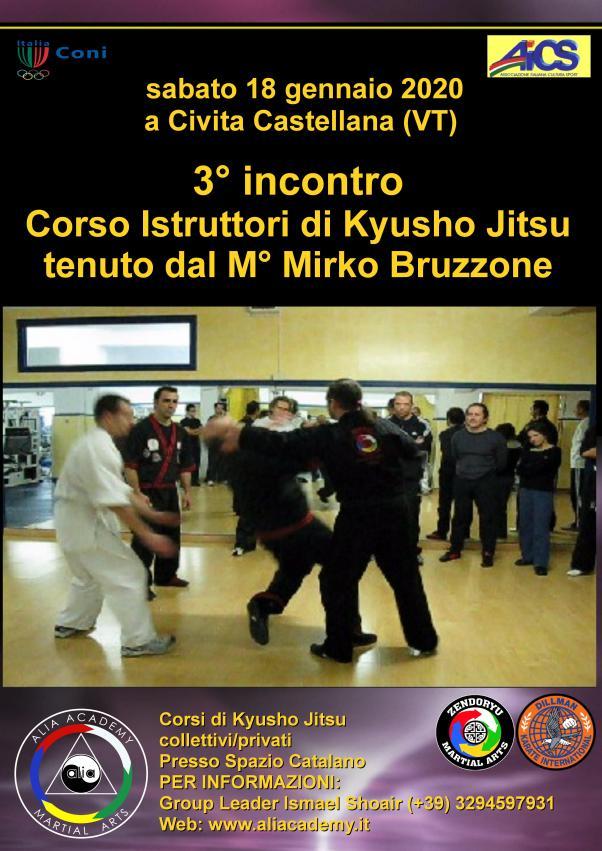 kyusho jitsu corso istruttori civita castellana