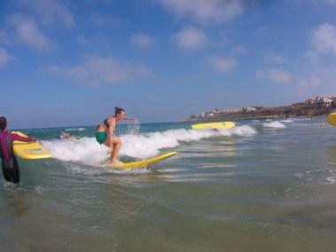 Surf en Playa de San Juan
