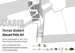 Inauguración Oficial del Mural Artístico Oasis @ Plaza Virgen del Remedio,