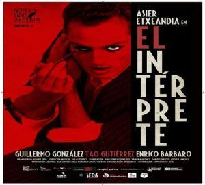 Asier Etxeandia en EL INTÉRPRETE @ Teatro Principal de Alicante