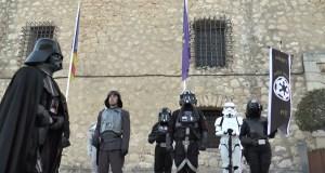 Desfiles de La Guerra de las galaxias en el Castillo y centro de Alicante @ Alicante