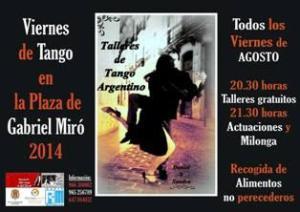 Viernes de Tango en plaza Gabriel Miró @ PLAZA DE GABRIEL MIRÓ | Alicante | Comunidad Valenciana | España