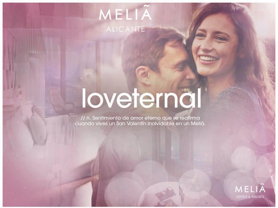 love ternal hotel melia alicante