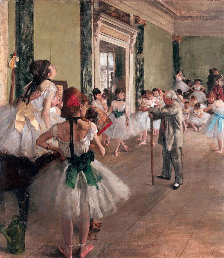 781px-Degas-_La_classe_de_danse_1874