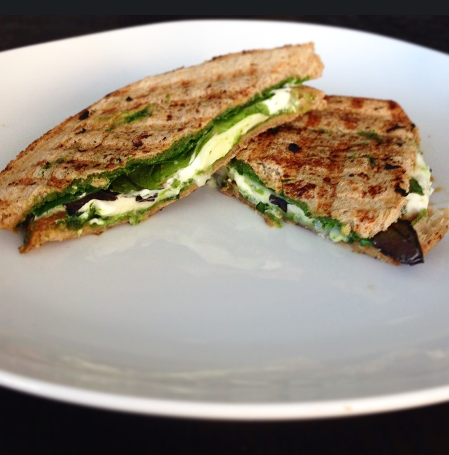goat cheese panini