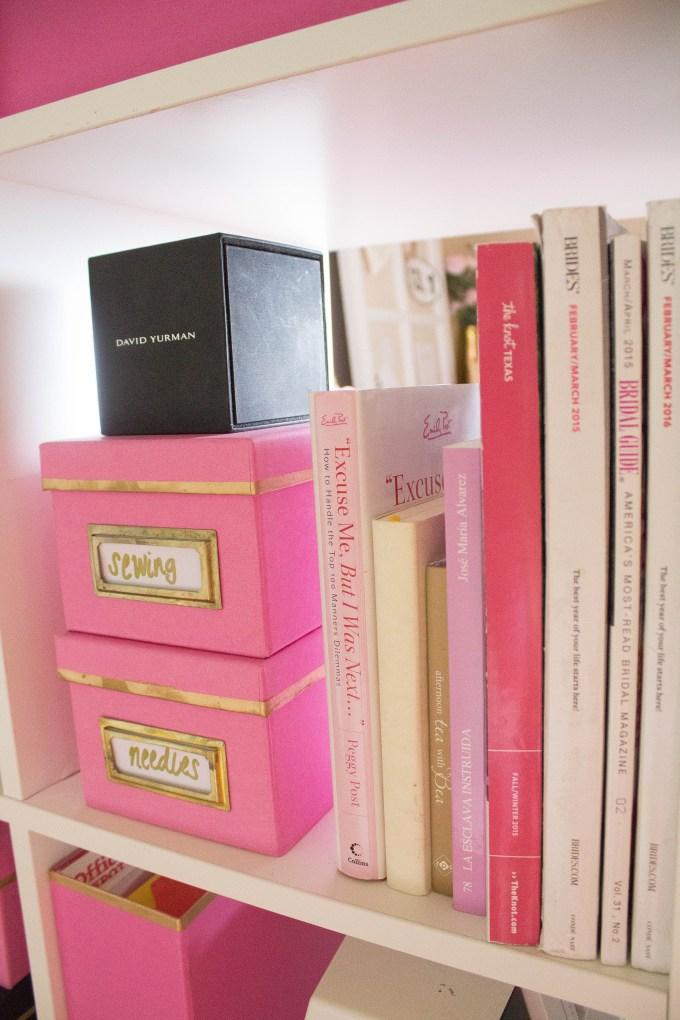 small home office tour - aliceincookingland.com
