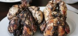 coquelet rôti au miel et mbongo