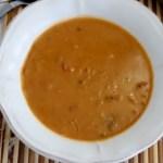 Sauce d'arachides aux harengs fumés