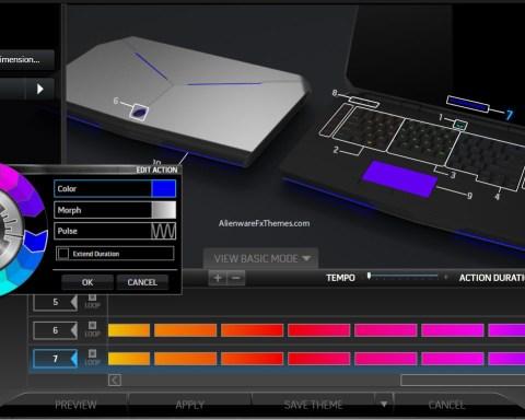 Rainbow Ware By Silver1590 Alienware 17 R3 Fx Theme
