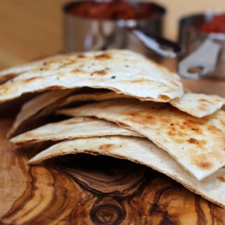 lime and black pepper torilla chips