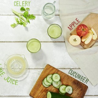 apple cucumber lime celery