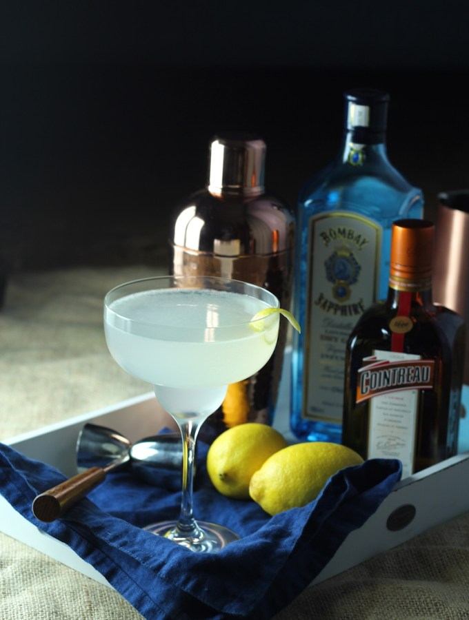 The Daisy Cocktail. A really easy 1920's cocktail to make at home | www.alifeofgeekery.co.uk