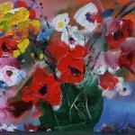 """Из цикла """"Цветы""""-3 50х70, холст, масло, 2010"""