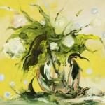 """Из цикла """"Цветы""""-4 - 50х50 - холст масло - 2013"""