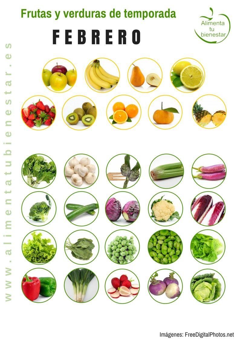Frutas y verduras de temporada para cada mes del a o - Semillas de frutas y verduras ...