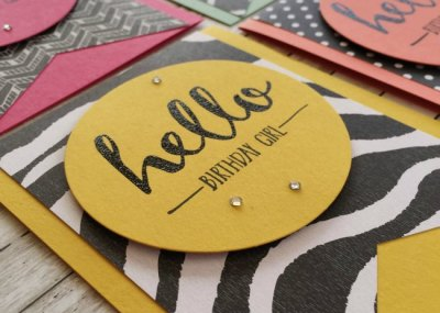 Stampin Up Hello