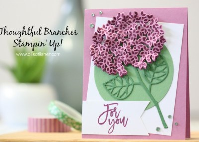 Stampin' Up! Thoughtful Brances