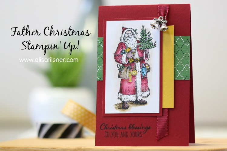 Stampin' Up! Father Christmas