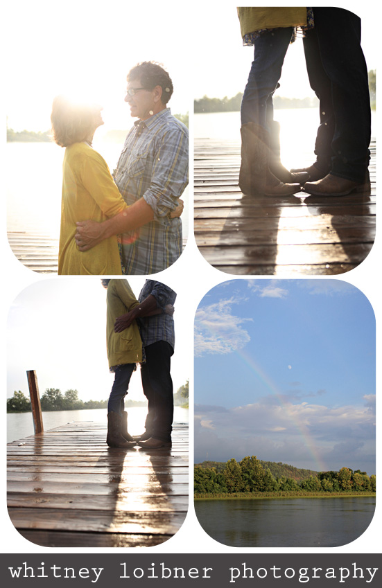 boots in the sunlight, cowboy boot love on the dock, rainbow over Arkansas River