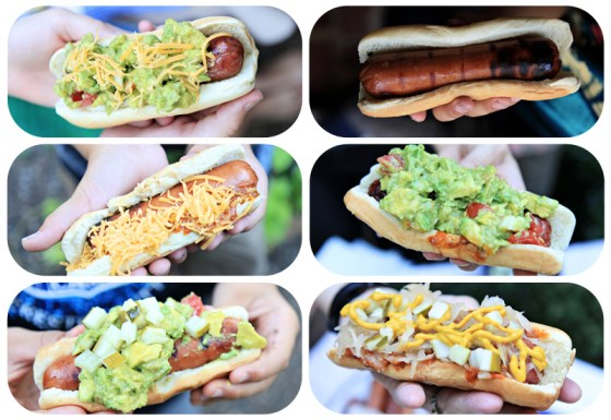 fun hot dogs, party, cookout, creative dogs