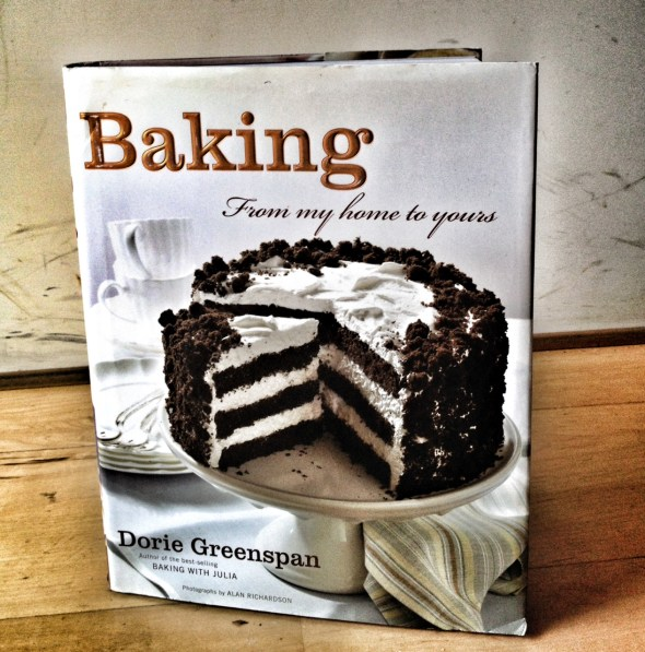 Baking by Dorie Greenspan, favorite cookbooks, cookie recipes, molasses spice cookies