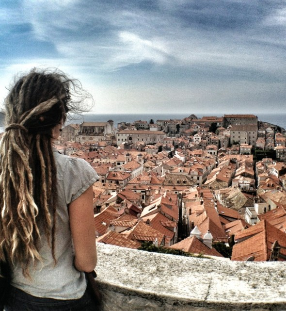 Mediterranean Cruise, Old City , Dubrovnik, Croatia, Mediterranean Ports, European Cruise, dreadlocks, traveling europe