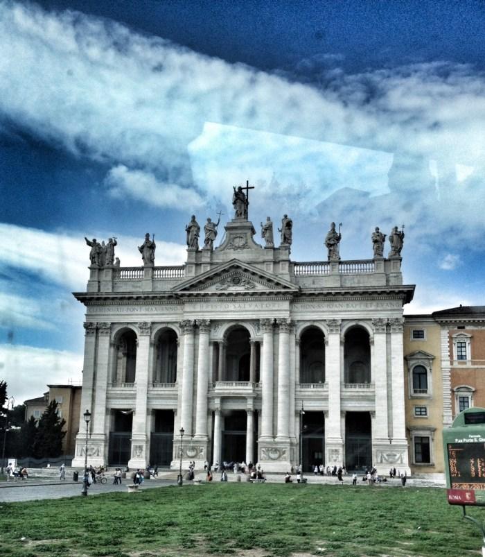 Rome, Italy, Europe, Travel, Wanderlust, St John's Basilica, Archbasilica of St John Lateran