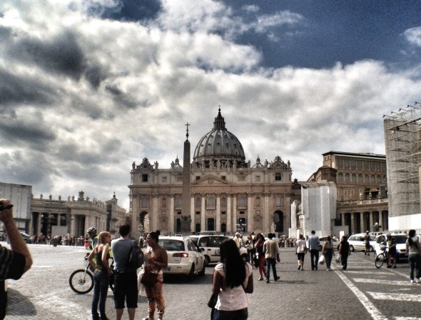 Rome, Italy, Travel, Mediterranean Cruise Ports, Wanderlust, Trevi Fountain, Vatican, St Peters Basilica