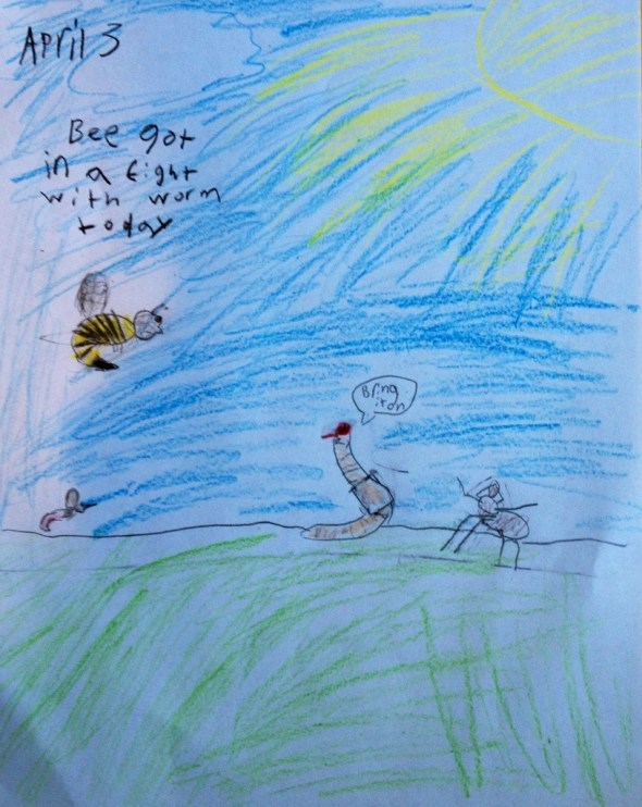 bug fight by Ben