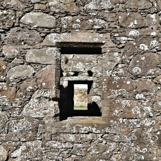 Dunnottar Castle, Stonehaven, Scotland, United Kingdom, Castle window