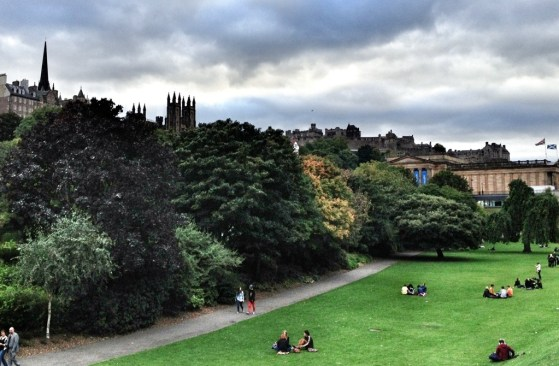 Edinburgh With Kids, Princes Street Gardens