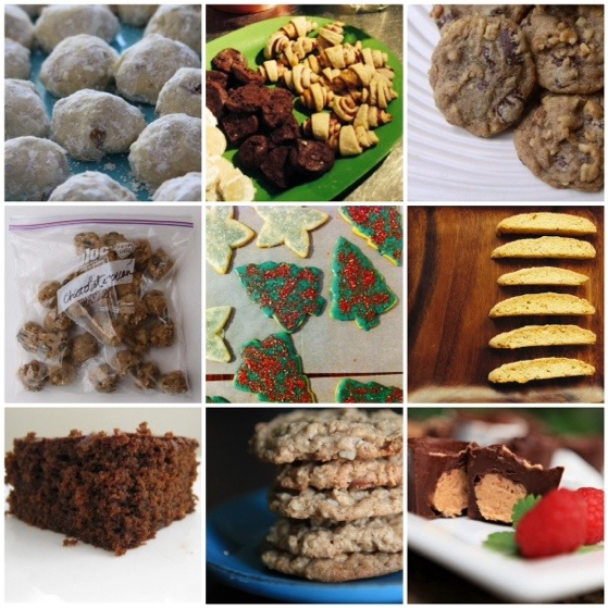 12 Homemade Treats for Baking and Gifting during the Holidays. Christmas Cookies and other Packable Treats
