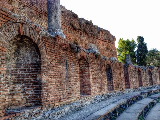 Snapshots of Sicily, Taormina, Greek Theater