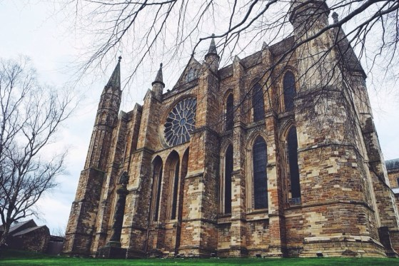 Snapshots of Durham, England, Durham Cathedral, Romanesque Architecture