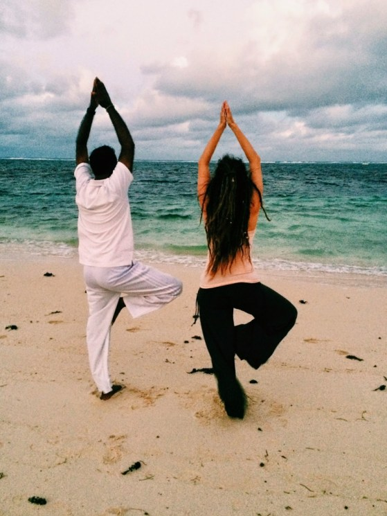 A Story about Yoga on the Beach, Mauritius, First Choice Holidays, Long Beach