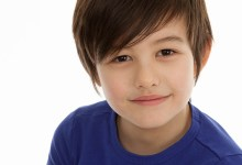 Super fast headshots for Max at seven years for modelling portfolio with Sylvia Young Modelling Agency in London.