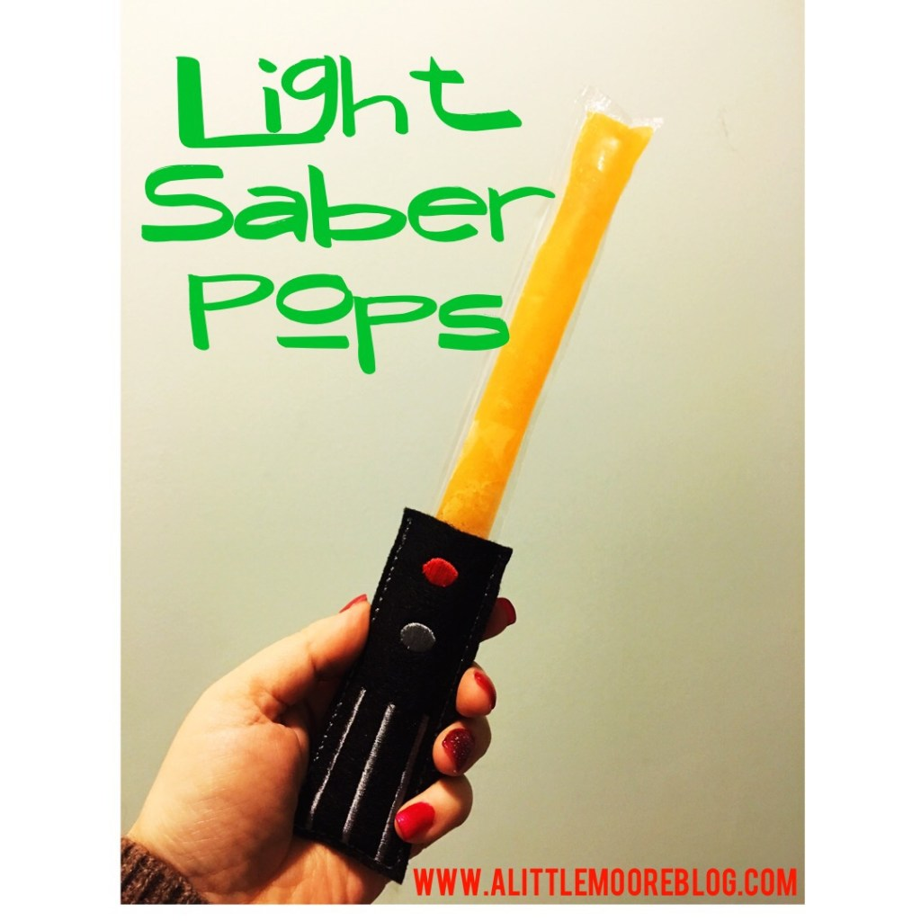 Star Wars Light Saber Popsicle Holders