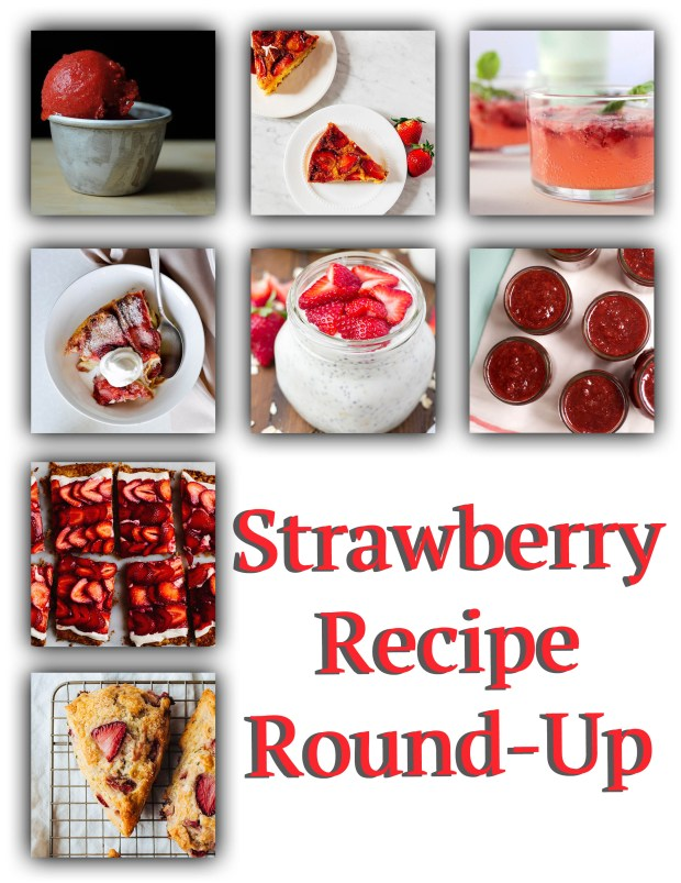 Strawberry Recipe Round Up